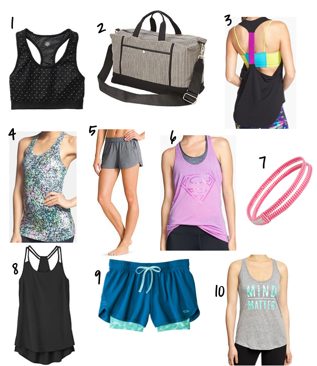workout spring things