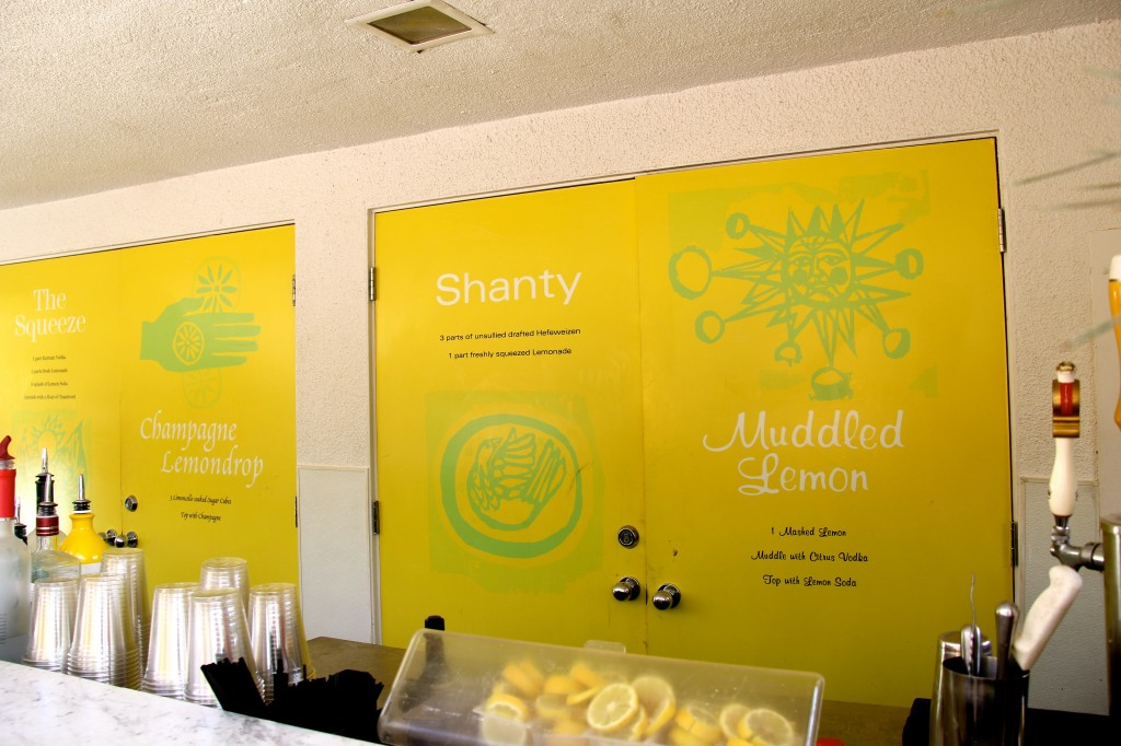 Lemonade stand parker hotel