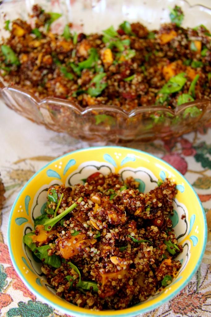 quinoa and butternut squash salad