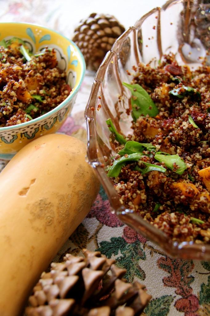 quinoa butternut squash salad