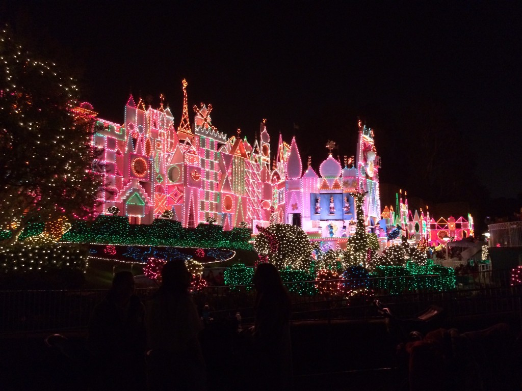 Disneyland Christmas Lights