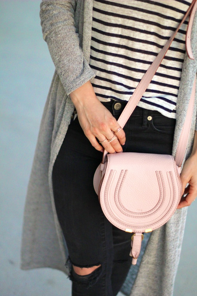 chloe marcia bag light pink