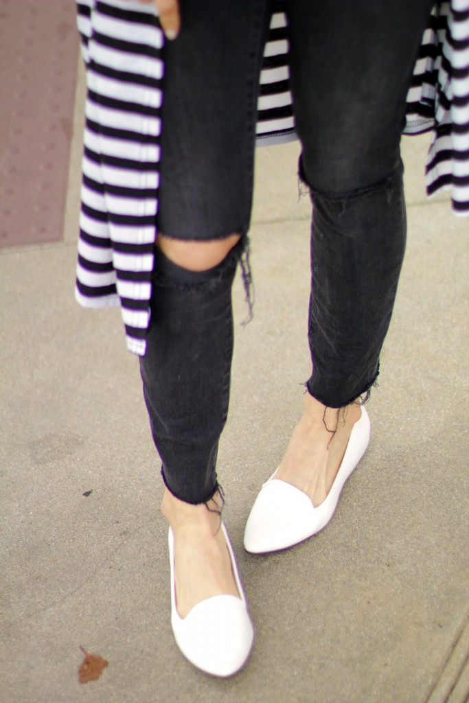 white loafers, spring shoes