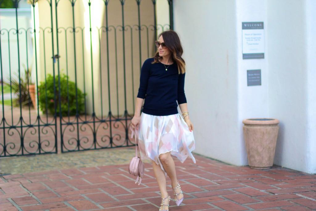 joie skirt, spring skirt, spring style