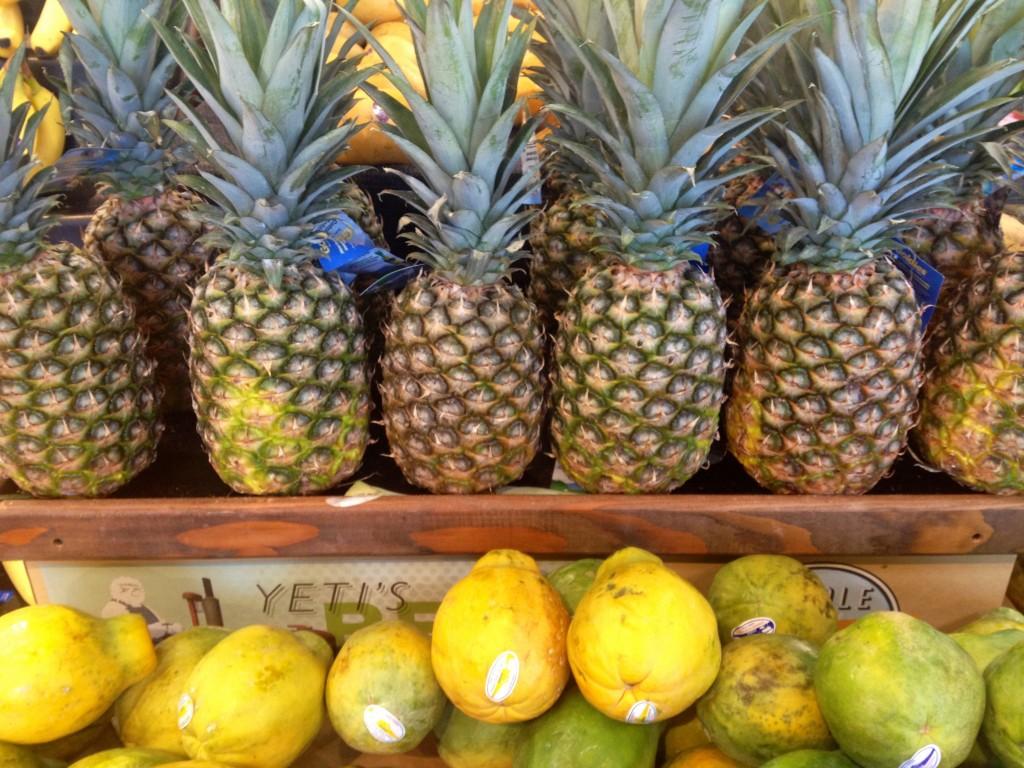 pineapples and mangos, itsy bitsy indulgences