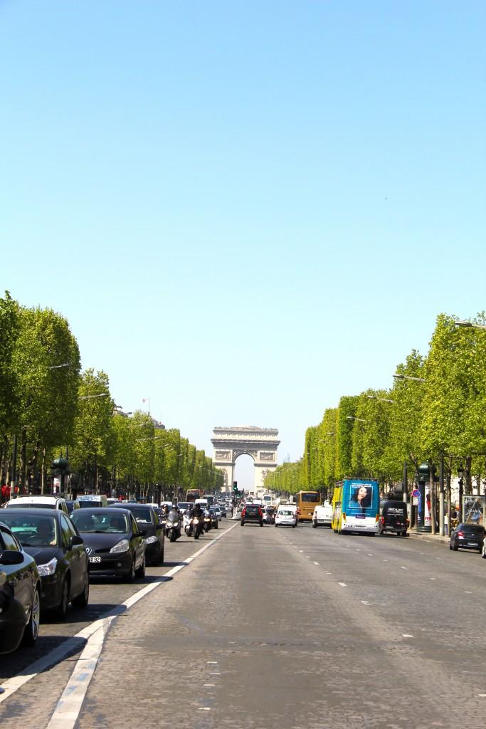 Arc de triomphe Paris // itsy bitsy indulgences