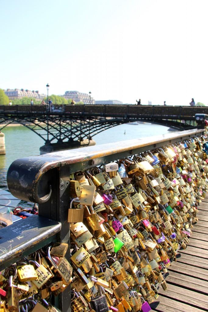 Lock Bridge, Paris, Itsy Bitsy Indulgences