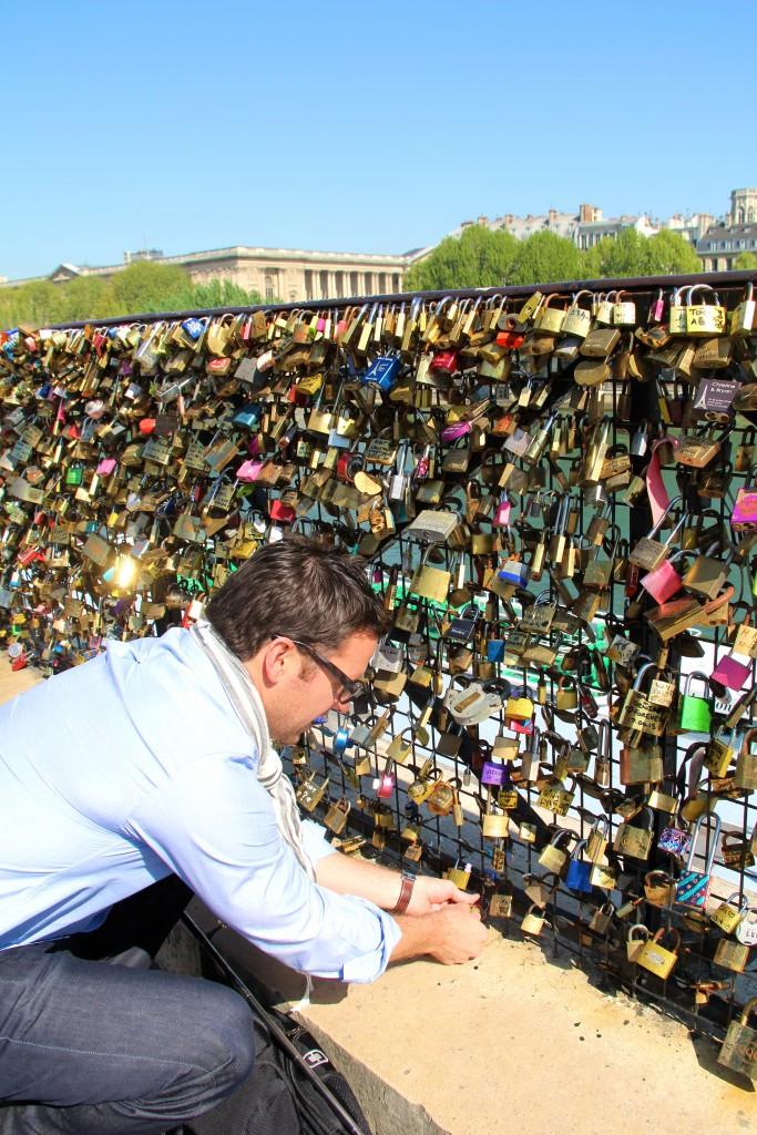 lock bridge Paris // itsy bitsy indulgences