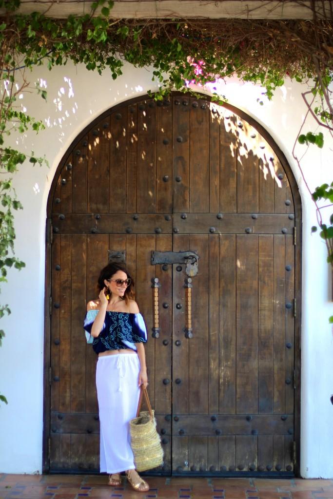 white skirt, summer fashion, itsy bitsy indulgences