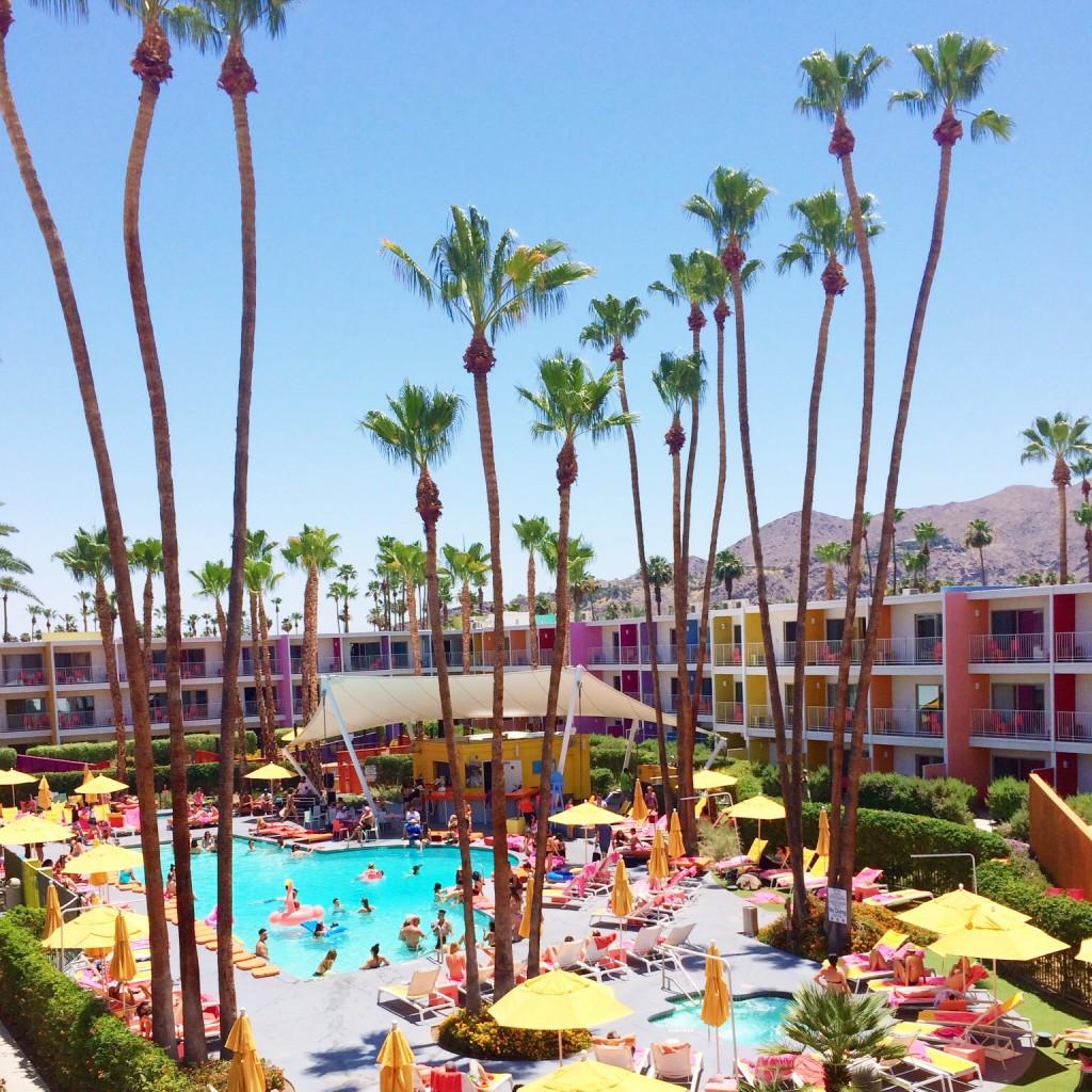 The Saguaro Palm Springs, itsy bitsy indulgences