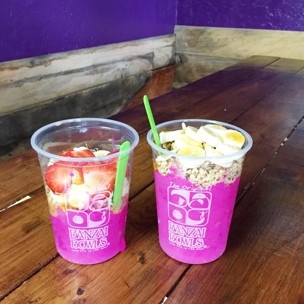 Pitaya Bowls, itsy bitsy indulgences