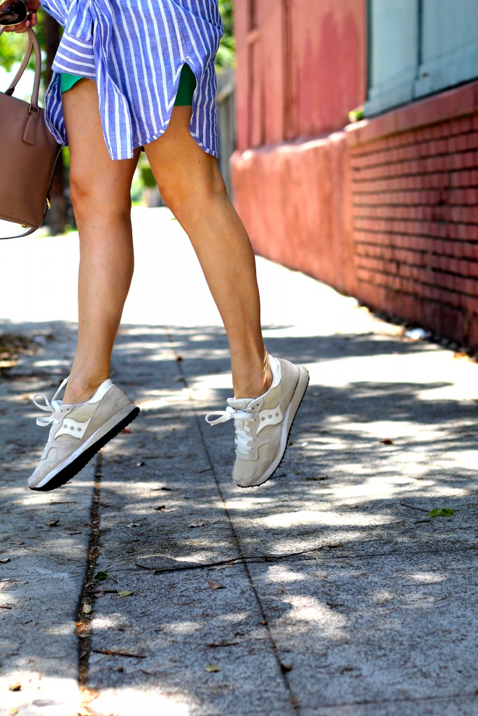 madewell X sauconey sneakers, itsy bitsy indulgences