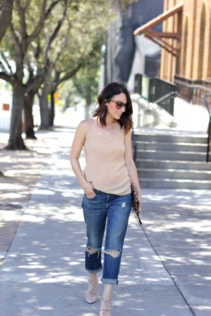 distressed boyfriend jeans, itsy bitsy indulgences