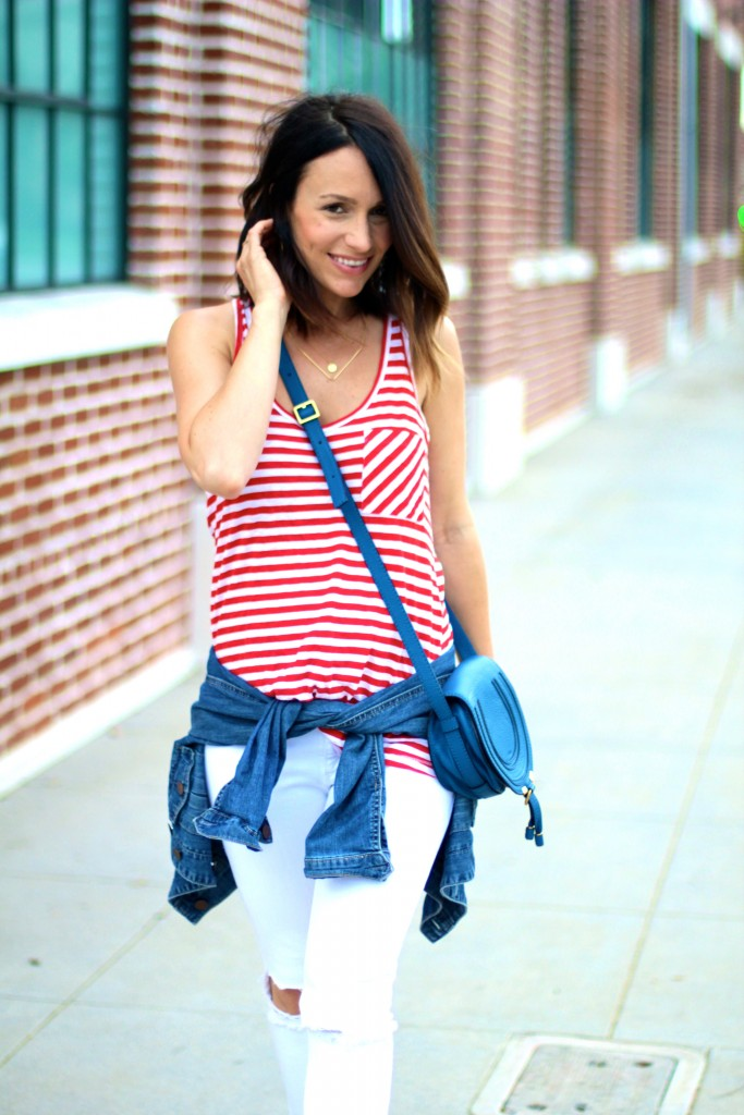 red white and blue outfit, itsy bitsy indulgences