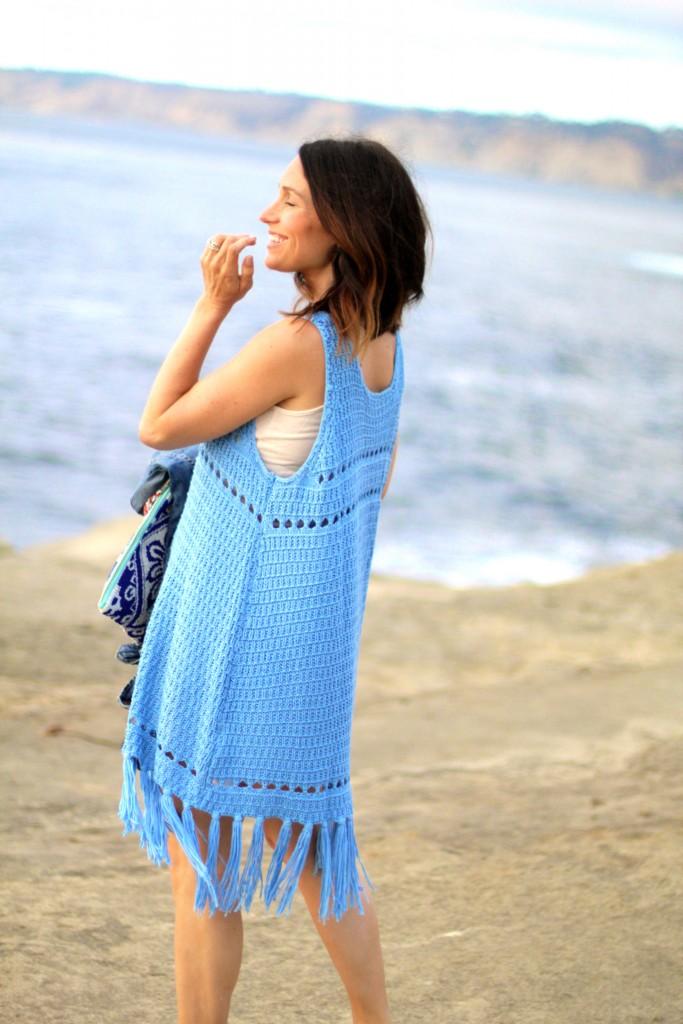 crochet dress, itsy bitsy indulgences