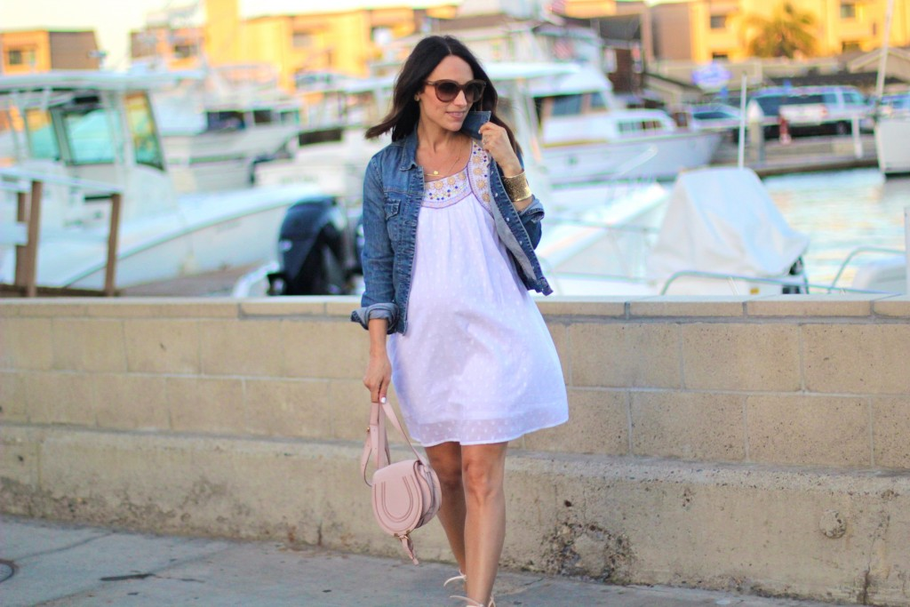 summer beach outfit, itsy bitsy indulgences