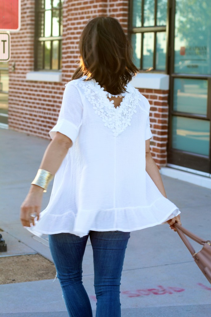 white blouse, itsy bitsy indulgences