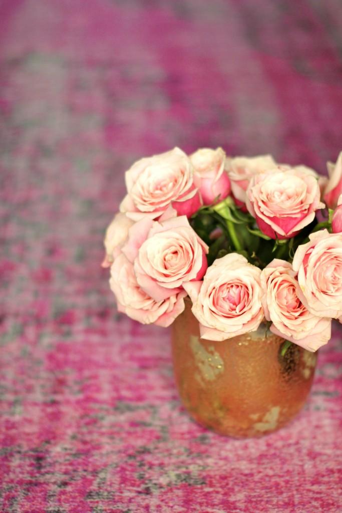 pink roses, itsy bitsy indulgences