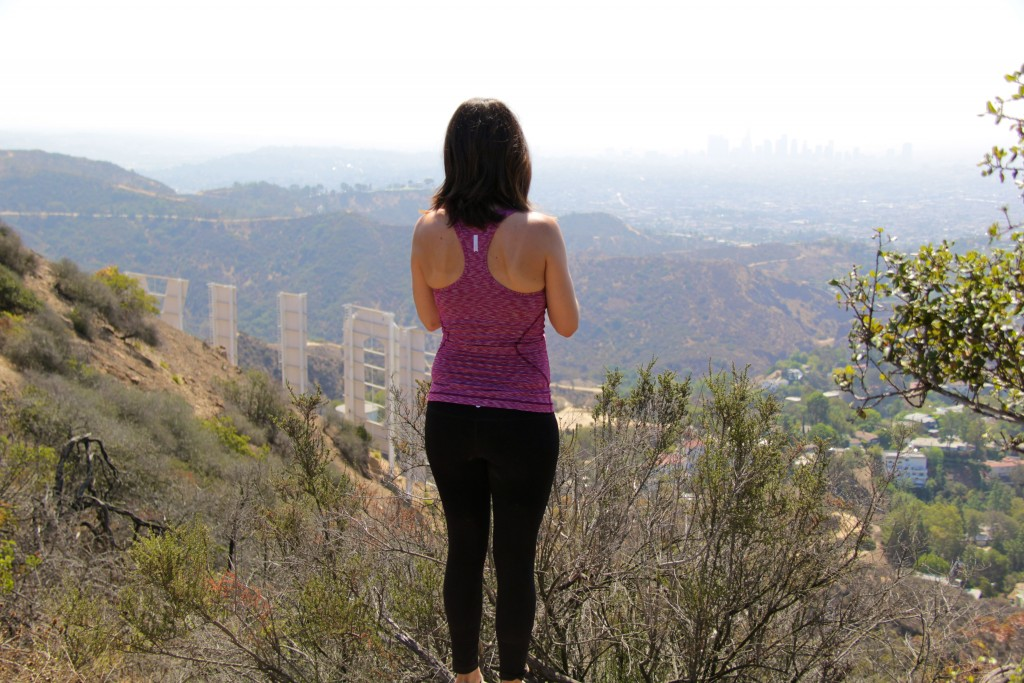hollywood hills, zella workout gear, itsy bitsy indulgences
