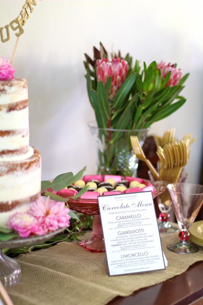 dessert table, backyard rustic baby shower, itsy bitsy indulgences
