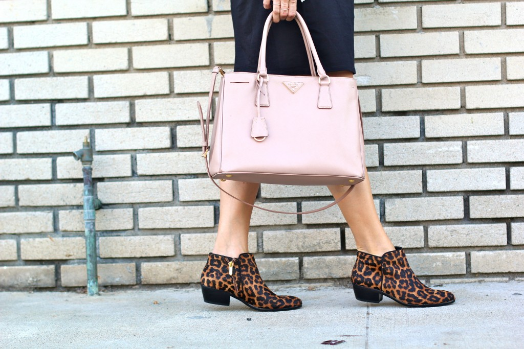 leopard booties, itsy bitsy indulgences