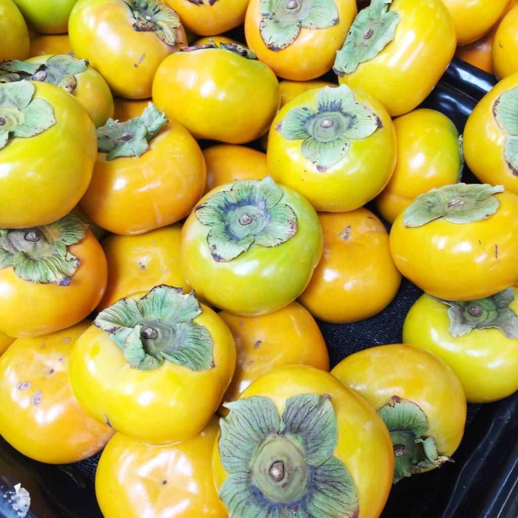 persimmons, itsy bitsy indulgences