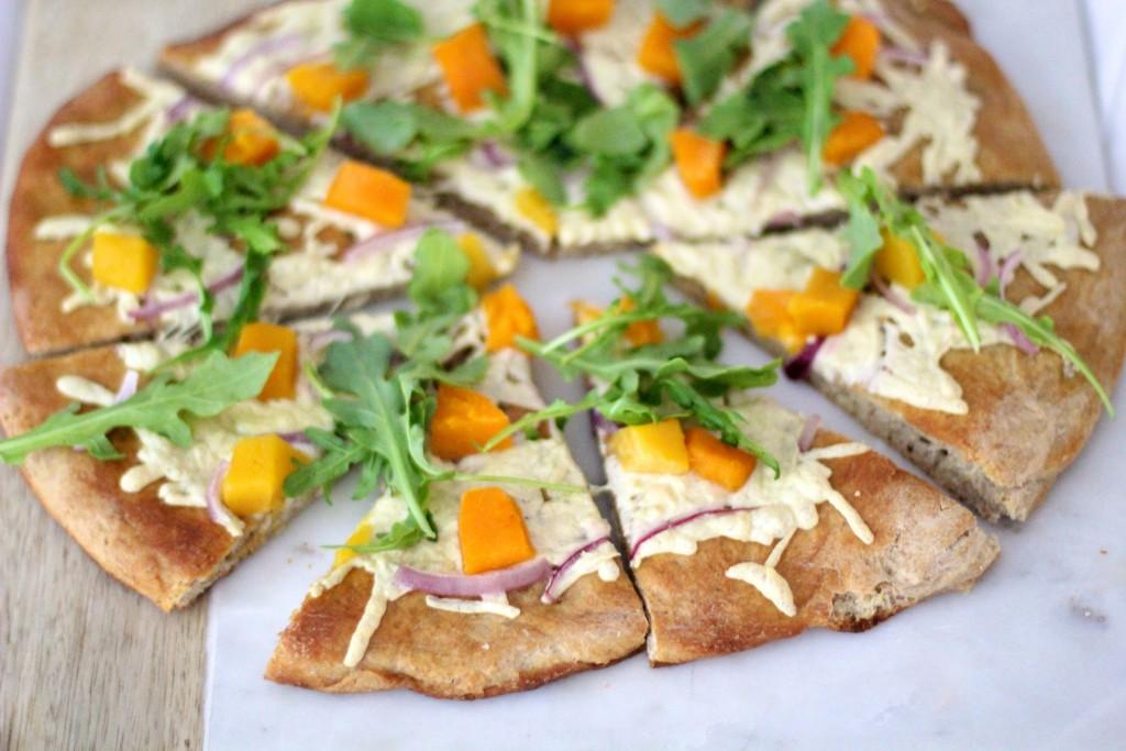 fall pizza, butternut squash pizza, itsy bitsy indulgences