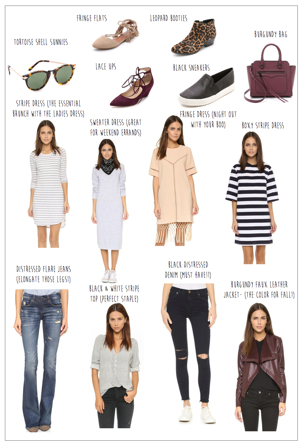 shopbop friends and family fall 2015