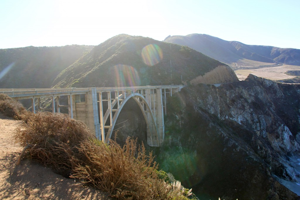 Bixby Creek Bridge, itsy bitsy indulgences