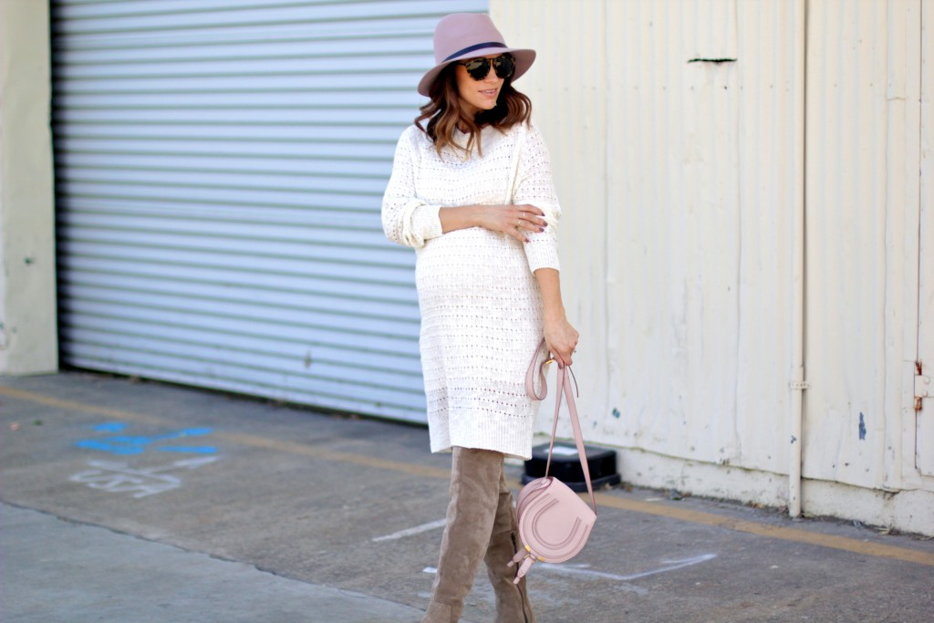 off white sweater dress, itsy bitsy indulgences