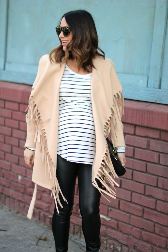 fringe and stripes, baby bump, itsy bitsy indulgences