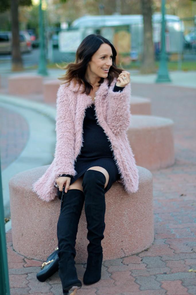 pink coat, itsy bitsy indulgences