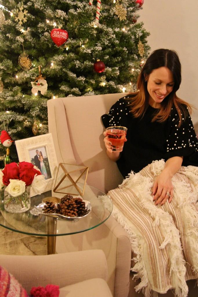 holiday cocktails, itsy bitsy indulgences