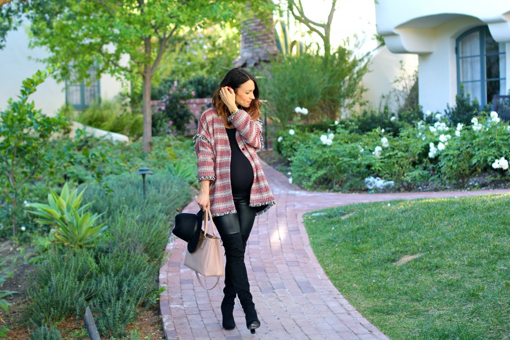the hatch collection tweed jacket, pregnancy style, itsy bitsy indulgences