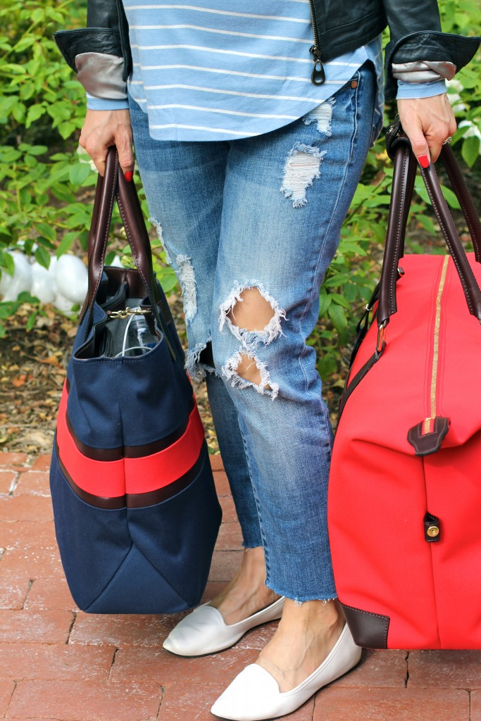weekend travel with dooney and bourke, itsy bitsy indulgences