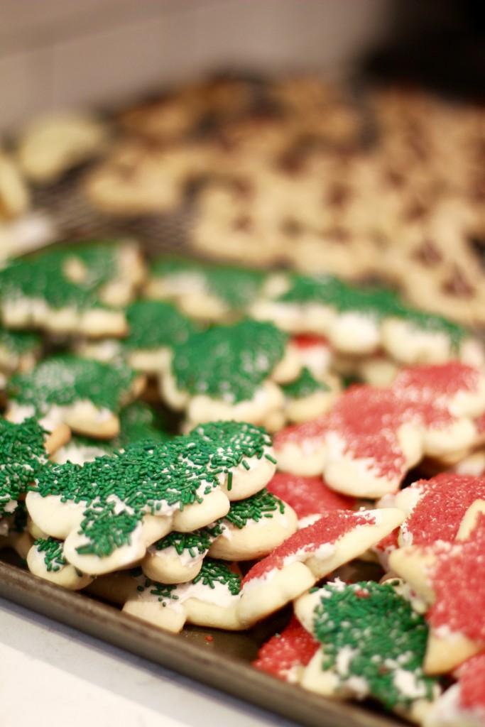 Christmas cookies, itsy bitsy indulgences