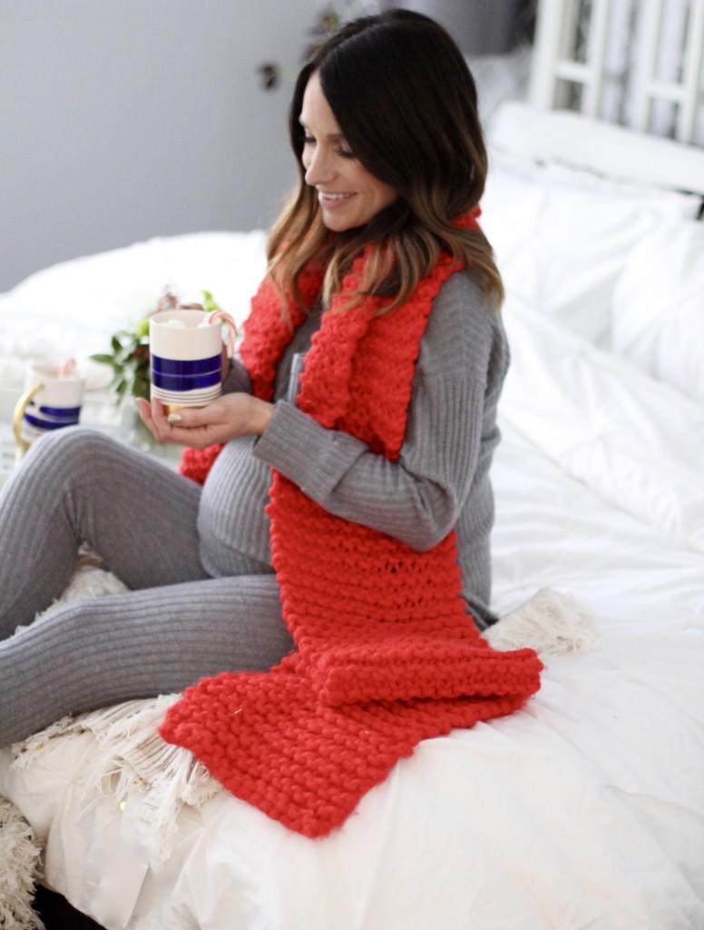 Christmas morning pajamas, itsy bitsy indulgences