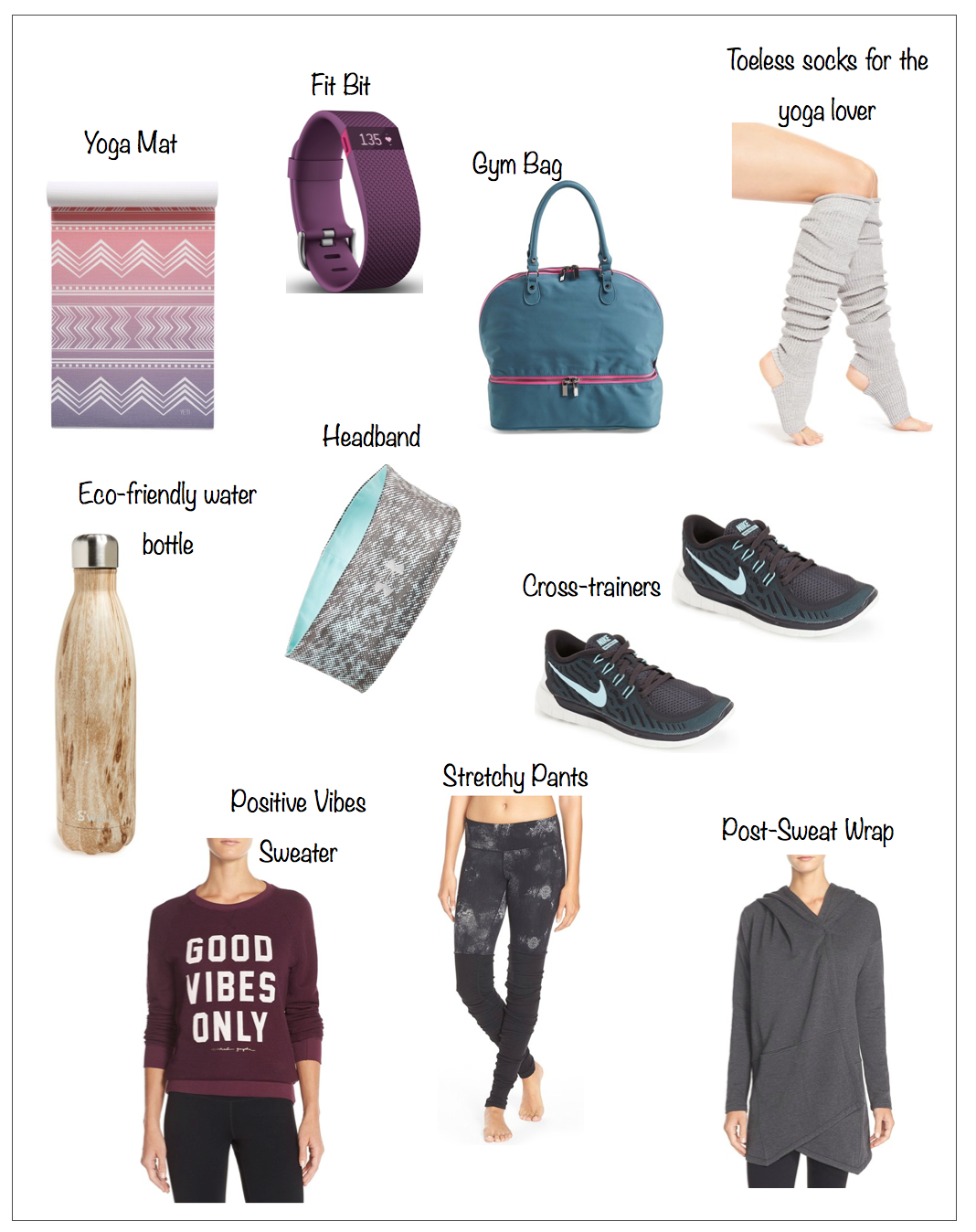 fitness giftguide 2015