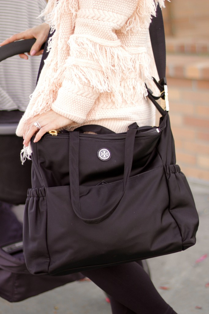 tory burch diaper bag, itsy bitsy indulgences