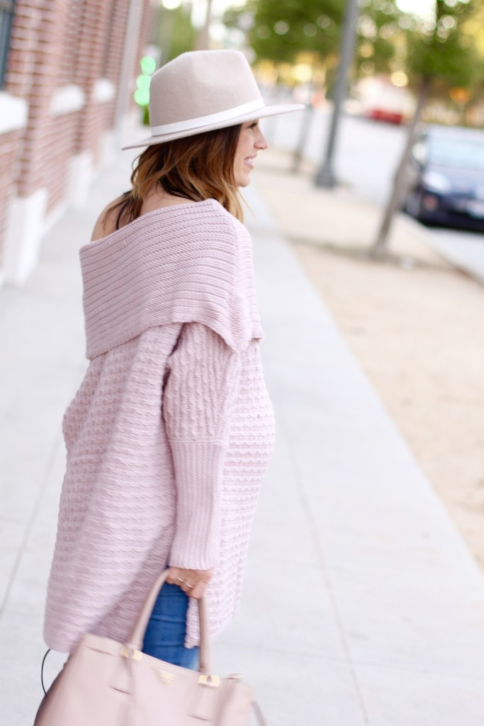off the shoulder sweater, itsy bitsy indulgences