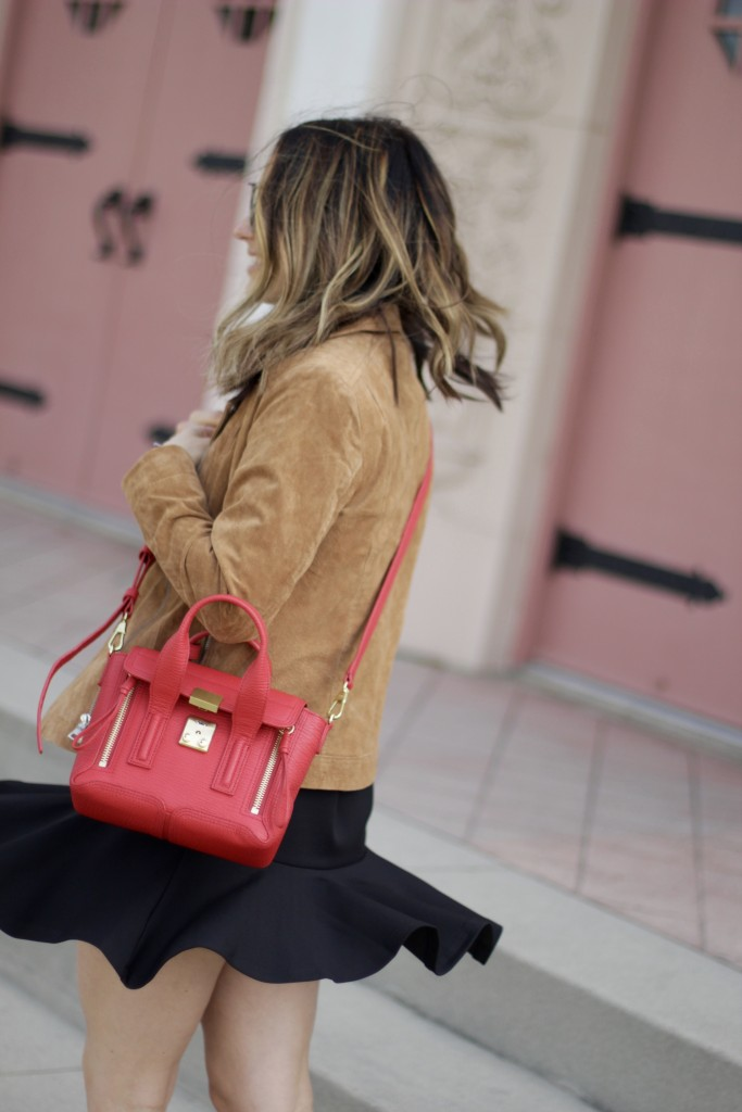 red pashil philip lim bag, itsy bitsy indulgences