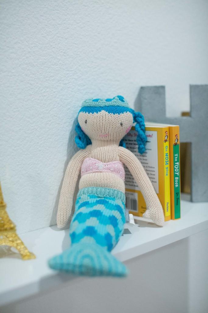 mermaid stuffed animal, itsy bitsy indulgences