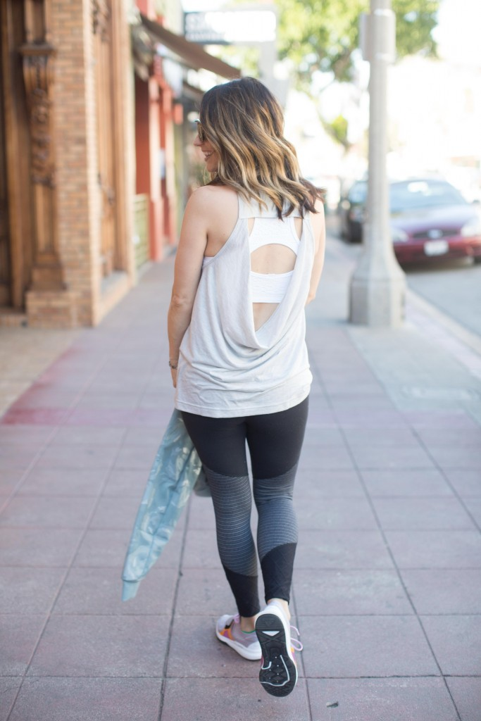 anthropologie activewear, itsy bitsy indulgences