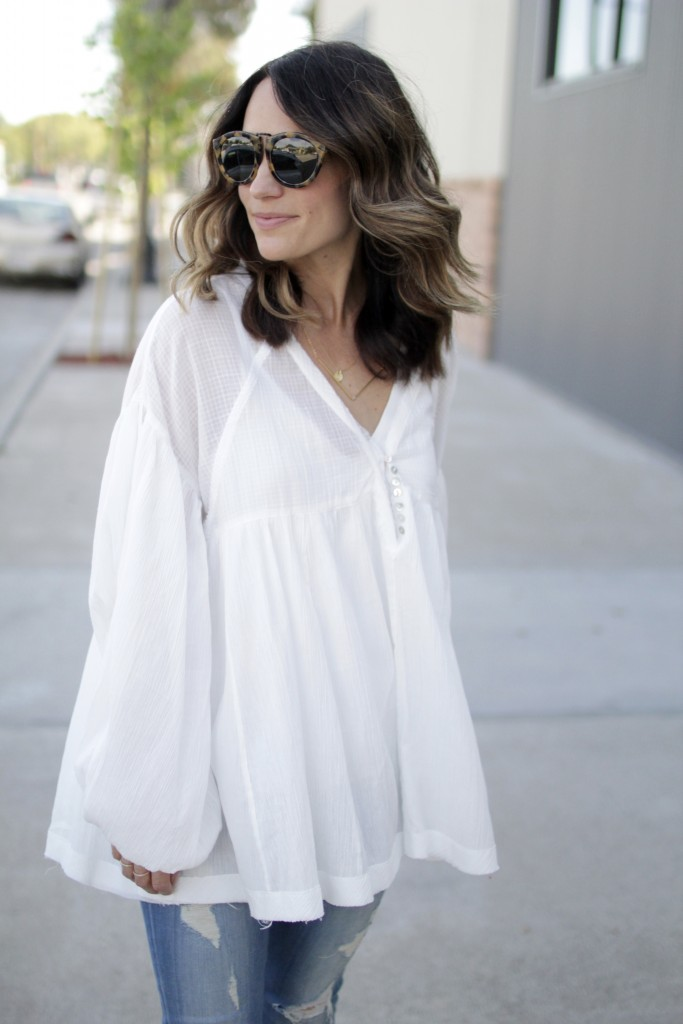 white blouse, itsy bitsy indulgences