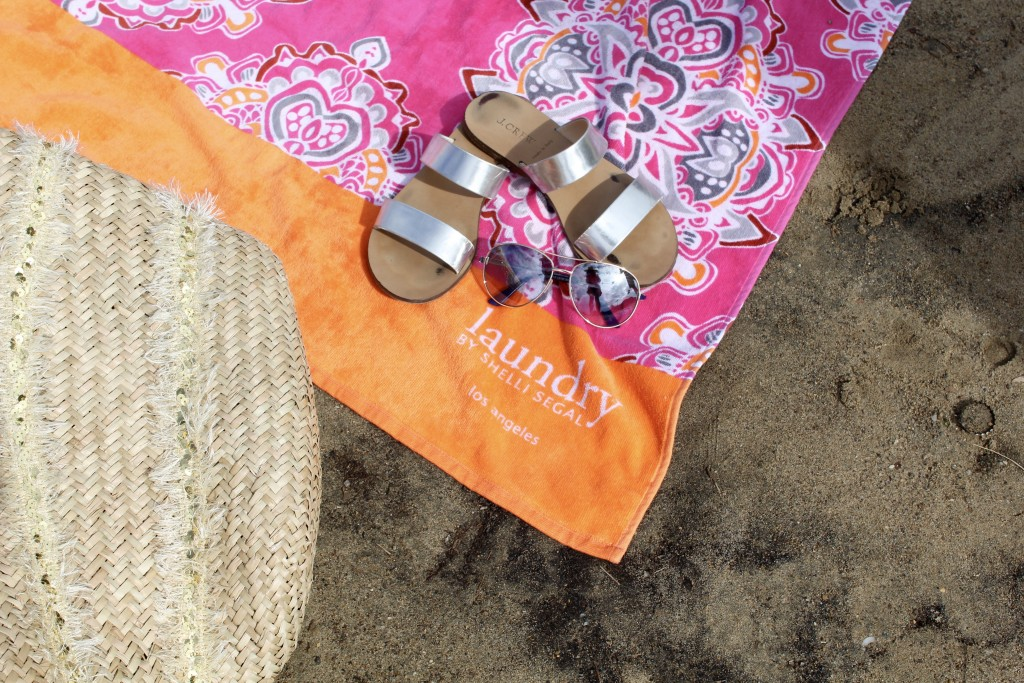 laundry beach towel, itsy bitsy indulgences