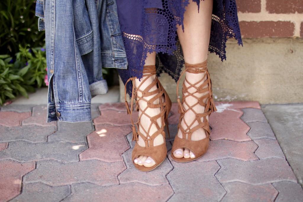 lace up heels, itsy bitsy indulgences