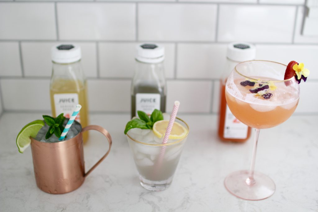 healthy cocktails, itsy bitsy indulgences