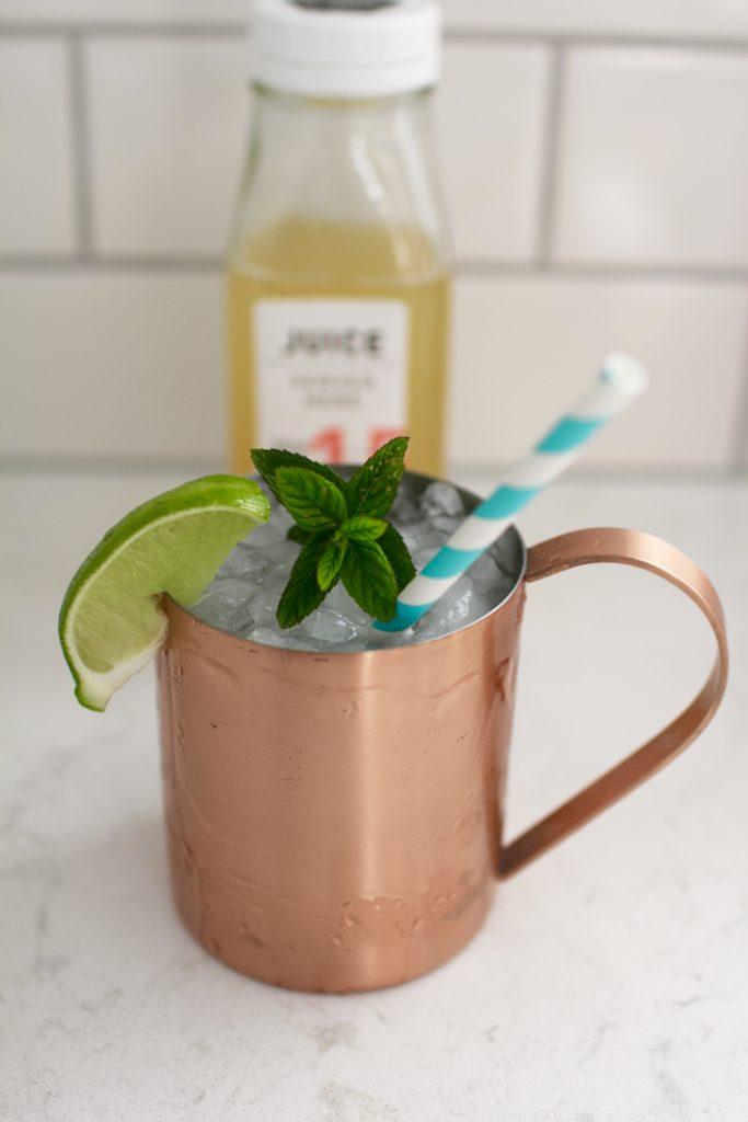 tequila mule, itsy bitsy indulgences