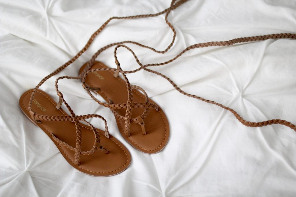 lace up sandals, itsy bitsy indulgences
