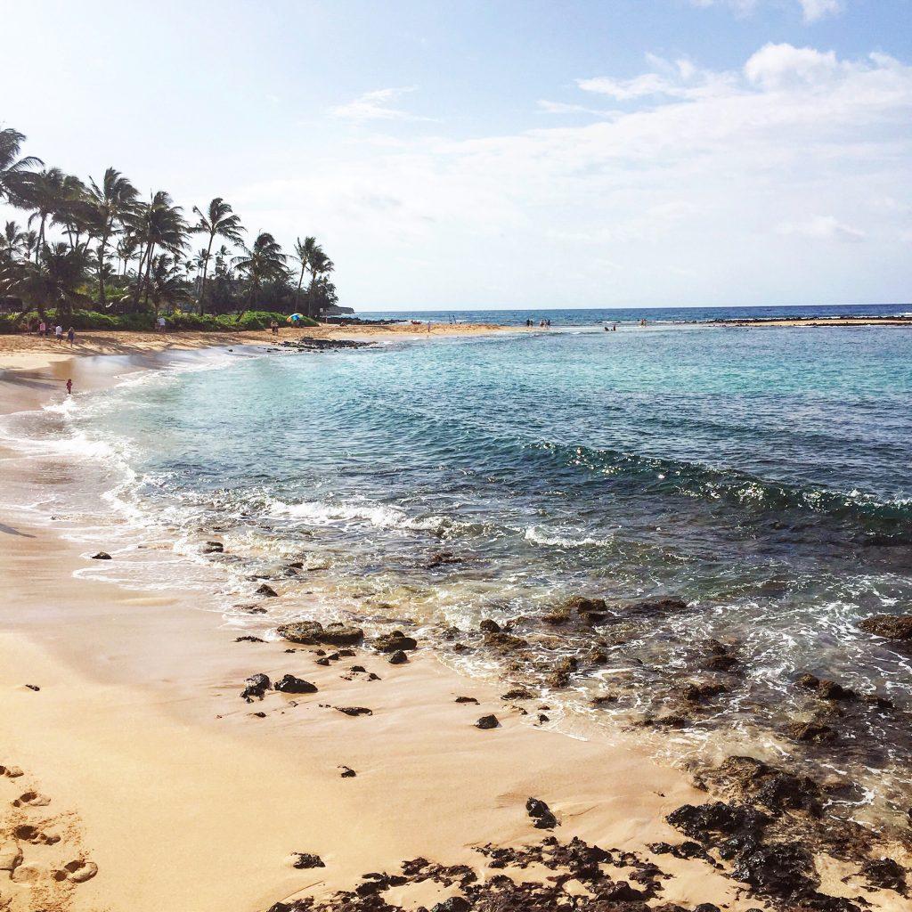 poipu beach, itsy bitsy indulgences